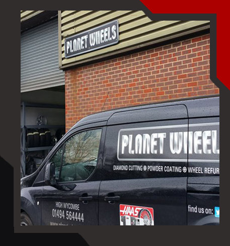 planet wheels, alloy wheel refurbishment image