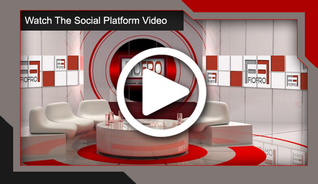 fiofro social platform video image