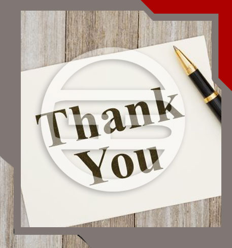 our global business thank you image
