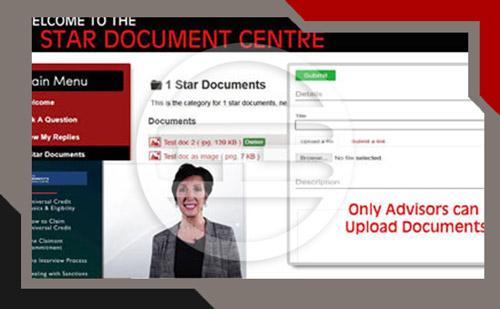 online advice platform documents
