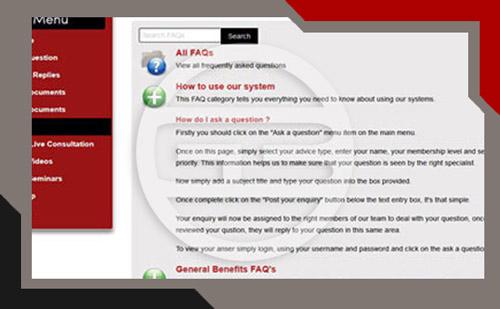 online advice platform faqs