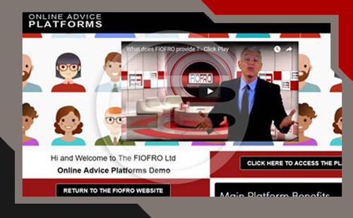online advice platform home
