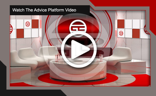 Our Global Business online advice platform video image