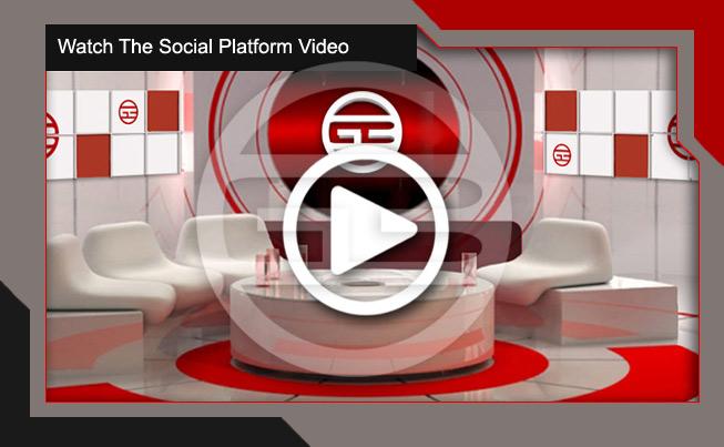 Our Global Business software social platform video image