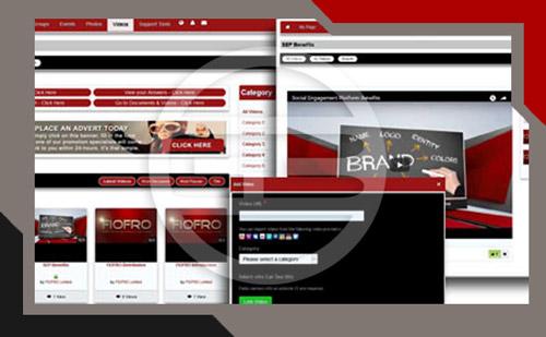 branded social network videos